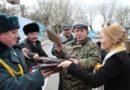 В Жаркенте открыли мемориальную доску Великой победы